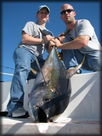 Tuna and Wahoo providing offshore action