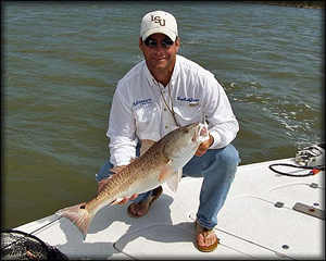 Fly fishing with deep south charters